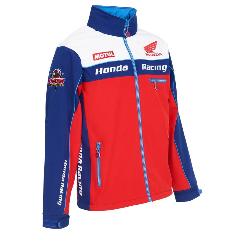 VESTE SOFT SHELL OFFICIELLE HONDA RACING